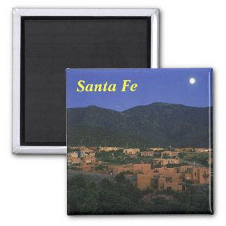 Santa Fe New Mexico, Santa Fe Refrigerator Magnet