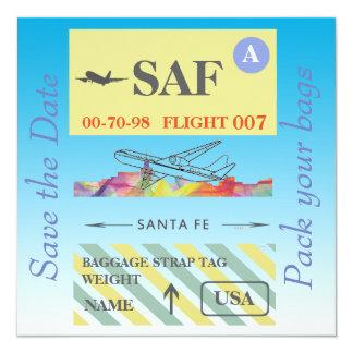 SANTA FE, NEW MEXICO SKYLINE WB1 - CARD