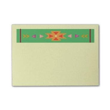 Aztec Themed Santa Fe Notepad