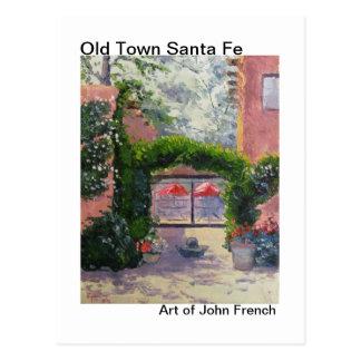 Santa Fe, pintura al óleo del nanómetro del Postal
