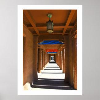 Santa Fe Portal Poster