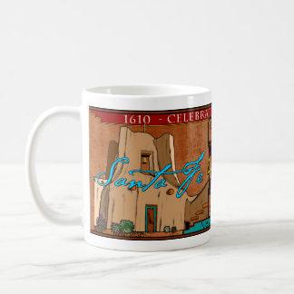 Santa Fe - Quadricentennial Classic White Coffee Mug