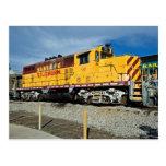 Santa Fe & Southern´s Diesel No. 93 Postcard