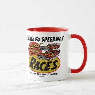 Santa Fe Speedway, Willow Springs, IL 1953-1995 Mug