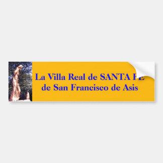 Santa Fe St Francis Prairie Dog statue... Bumper Sticker
