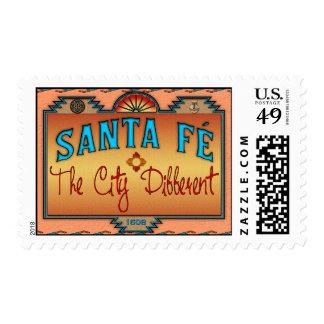 Santa Fe Stamp