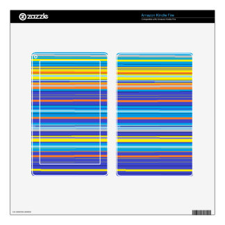 santa fe stripes decals for kindle fire