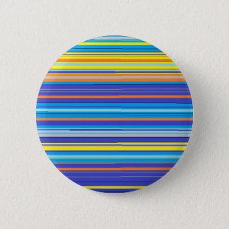 santa fe stripes pinback button
