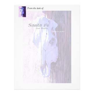 Santa Fe Style Letterhead