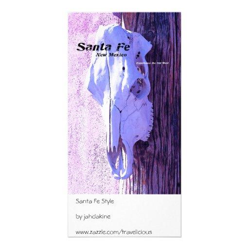 Santa Fe Style Photo Card