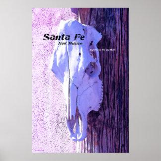 Santa Fe Style Poster