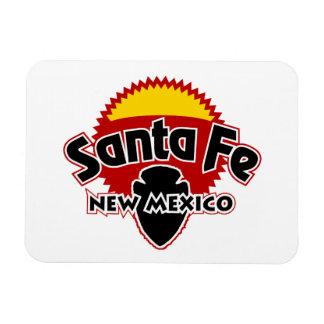 Santa Fe Sun Rectangular Photo Magnet