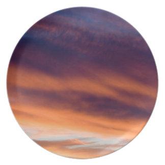 Santa Fe Sunset Melamine Plate