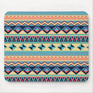 Santa Fe Sunset Tribal Rug Pattern Mouse Pad