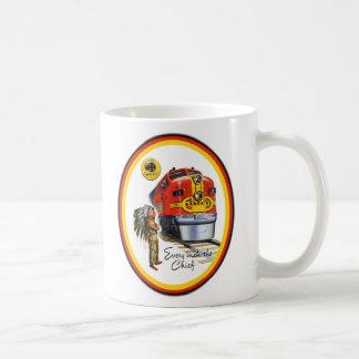 Santa Fe Super Chief Train Coffee Cup Mugs