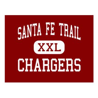 Santa Fe Trail - Chargers - High - Carbondale Postcard