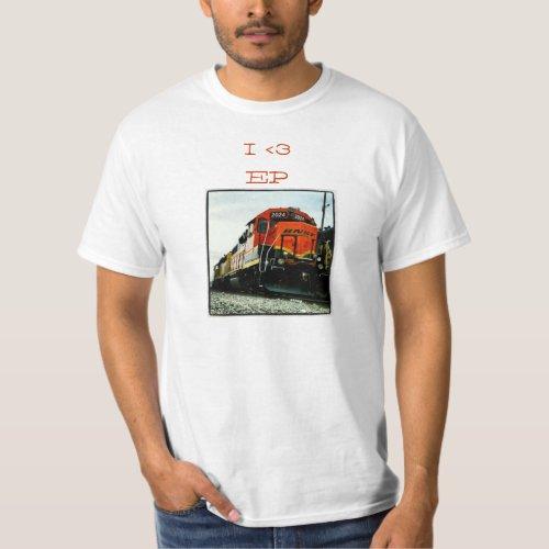 Santa Fe Trains El Paso TX T_Shirt