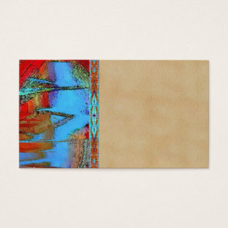Santa Fe Turquoise Earth Sedona Art business Cards