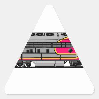 Santa Fe War Bonnet Triangle Sticker