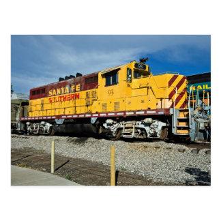 Santa Fe y no. 93 del diesel de Southern´s Tarjeta Postal