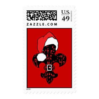 Santa Fleur de lis (1) Postage Stamps