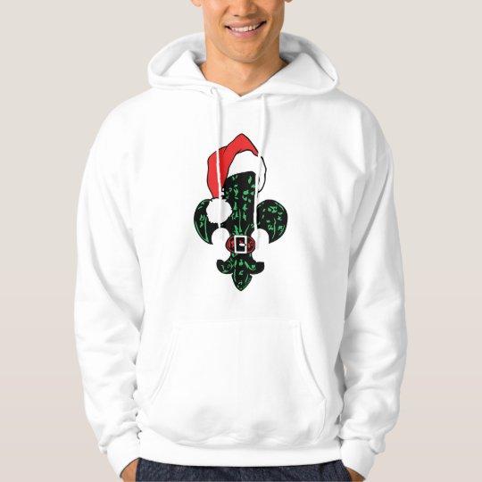 Santa Fleur de lis Hoodie