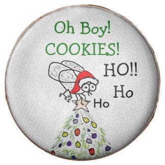 Santa Fly Oh Boy Christmas Cookies