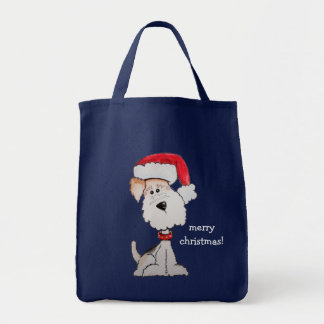 Santa Fox Terrier (Customizable) Bag