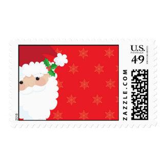 Santa Frame Stamp