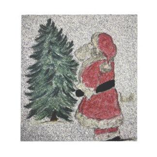 Santa Fresco Notepad
