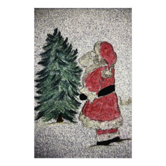 santa fresco stationery