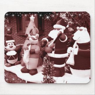 Santa & Friends Mouse Pad
