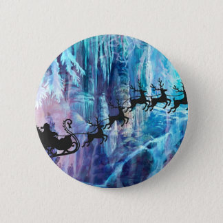 SANTA FROM THE DEPTHS OF THE NORTH POLE.jpg Pinback Button