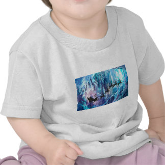 SANTA FROM THE DEPTHS OF THE NORTH POLE jpg Tshirts