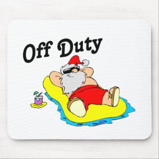Santa fuera de servicio tapete de raton