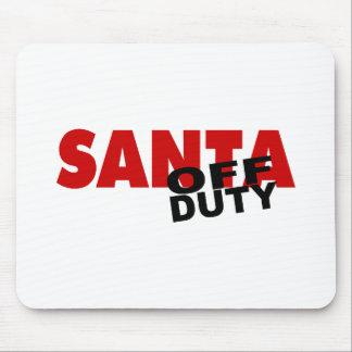 Santa fuera de servicio mousepads