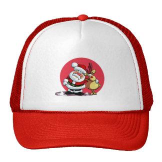 Santa Fun Christmas Trucker Hat
