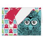 Santa Furby Greeting Card