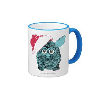 Santa Furby Tazas