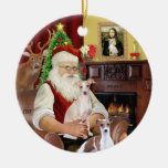 Santa - galgo italiano (DOS) Adorno