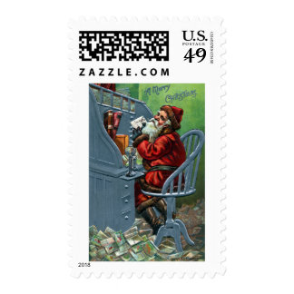 Santa Gets a Lot of Mail Postage