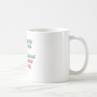 Santa Gets Arrested Coffee Mug