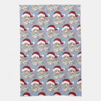Santa Gift Kitchen Towel Seasonal Fun
