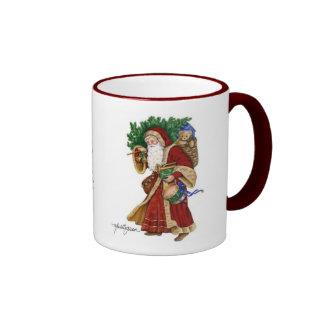 Santa Gingerbread Mug