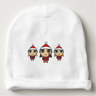 Santa Girls Cartoon Character Beanie Hat