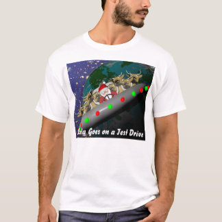 Santa Goes on a Test Drive T-Shirt