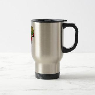Santa gordo taza de café