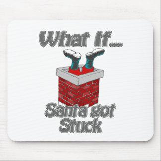 Santa got stuck mouse pads
