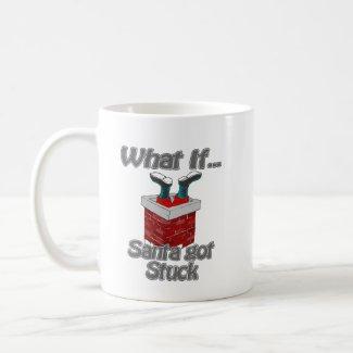 Santa got stuck mugs