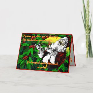 Santa! - Greeting Card card